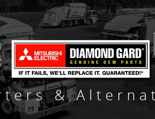 Wastebuilt Offers Mitsubishi Electric Starters and Alternators