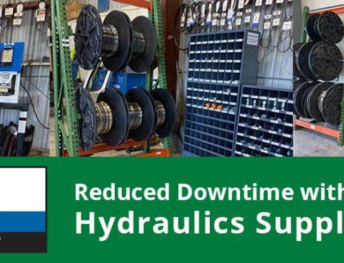 Reducing Downtime with Improved Hydraulics Supply Chain